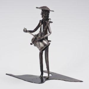 Esculturas de los Zambomberos ( Autor Javier Matín Muñoz) Arenas de San Pedro